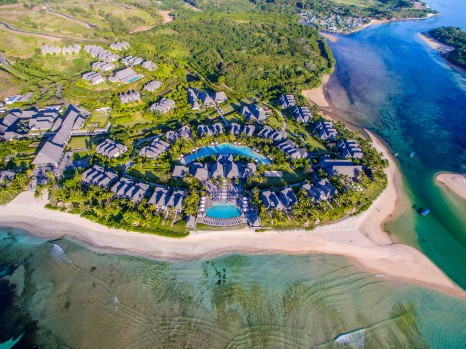 Aerial View of the InterContinental Fiji Golf Resort & Spa