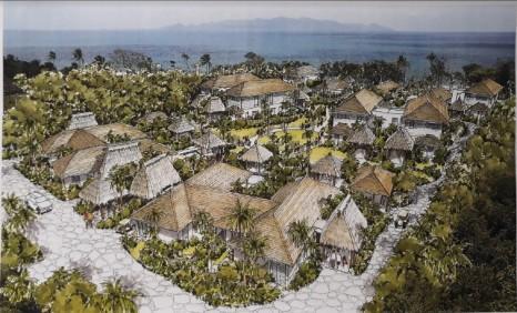 Auberge Beach Villas Artists Impression Feb 2018