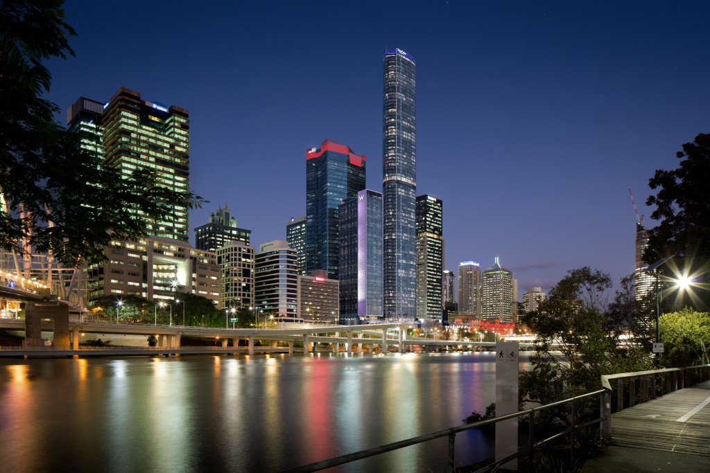 W Brisbane by Night