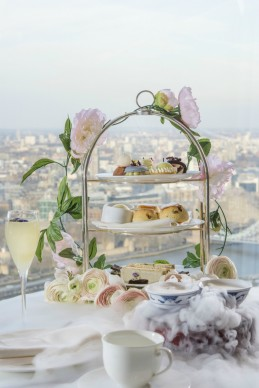 Royal Botanical Afternoon Tea at Shangri-La Hotel, At The Shard, London 1