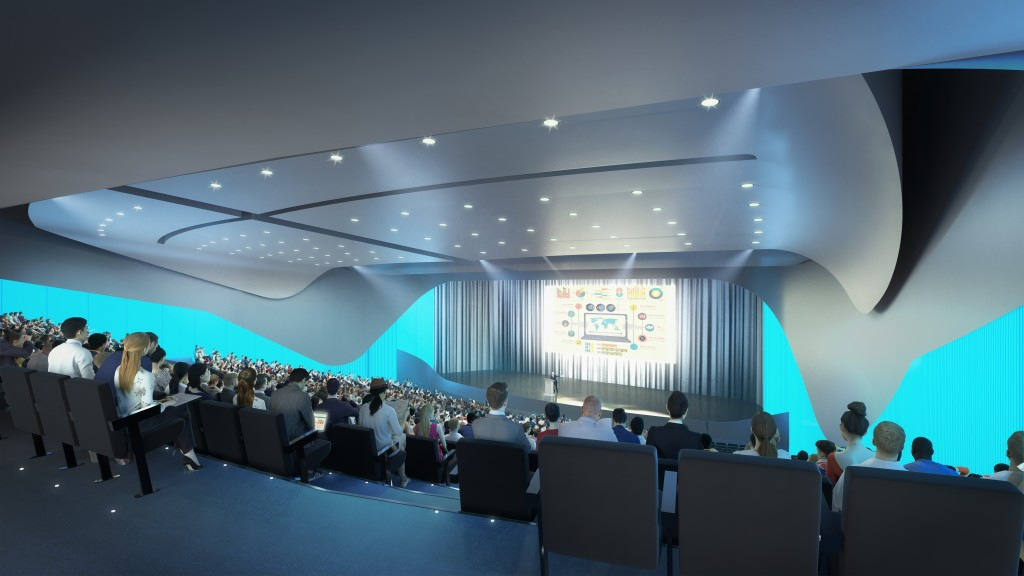 Artist impression - Auditorium