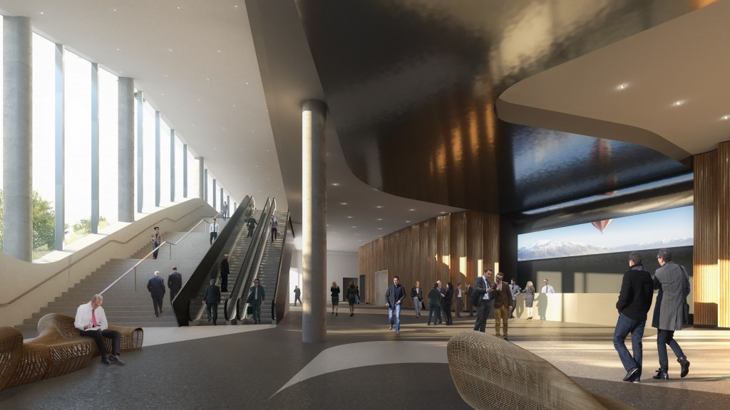 Artist impression - Foyer