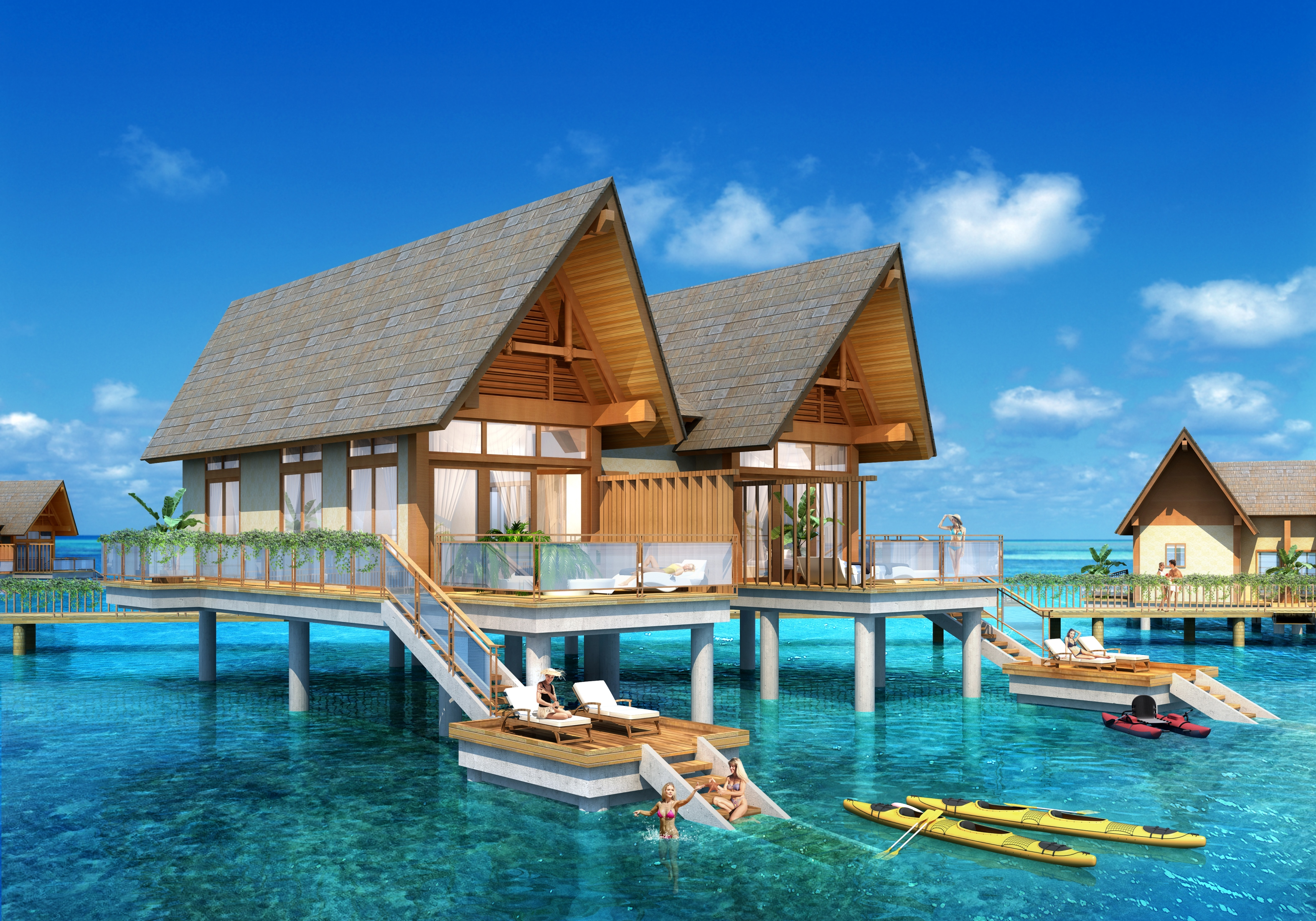 Wyndham Palau - Water Villa