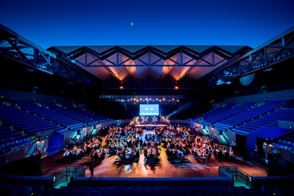 Margaret Court Dinner under the stars