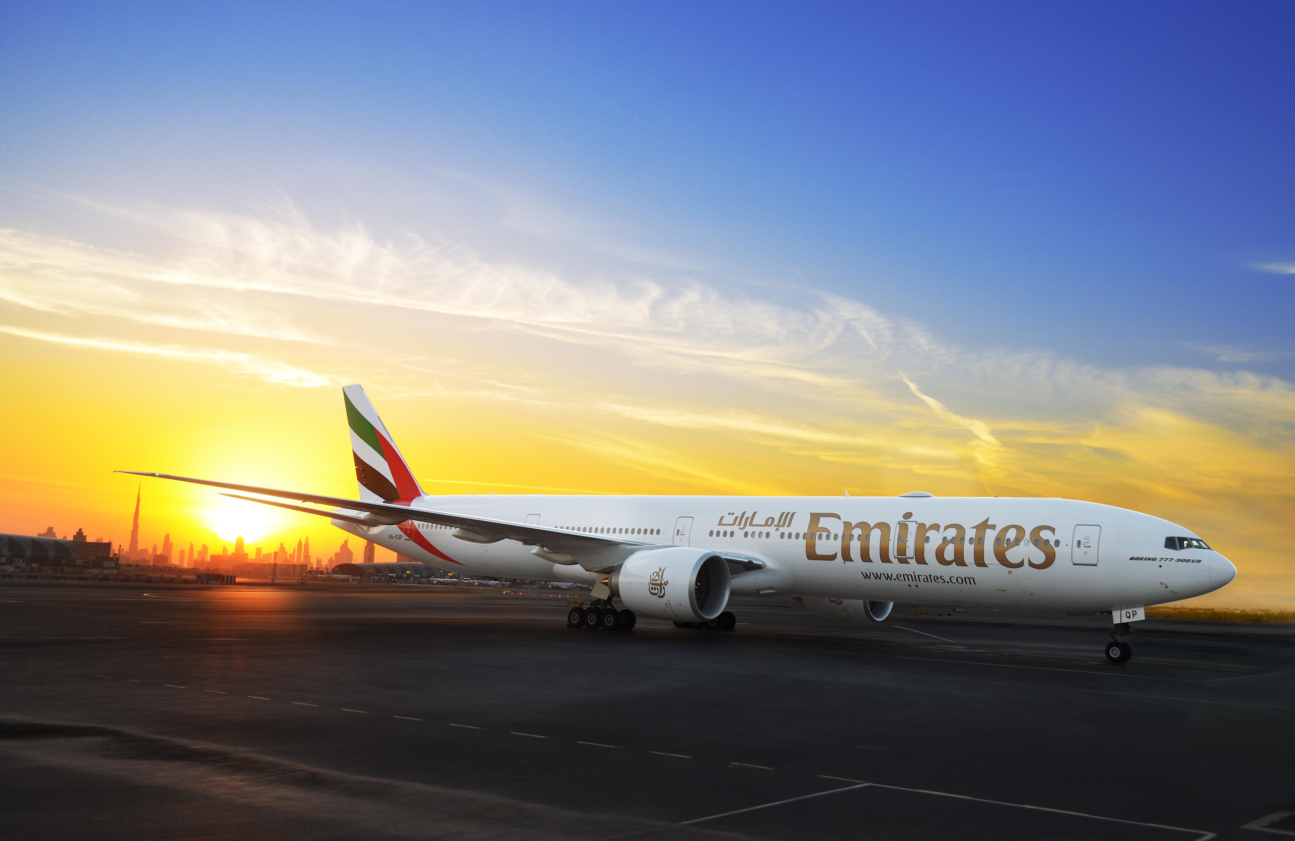 A6-EQP arrives in Dubai