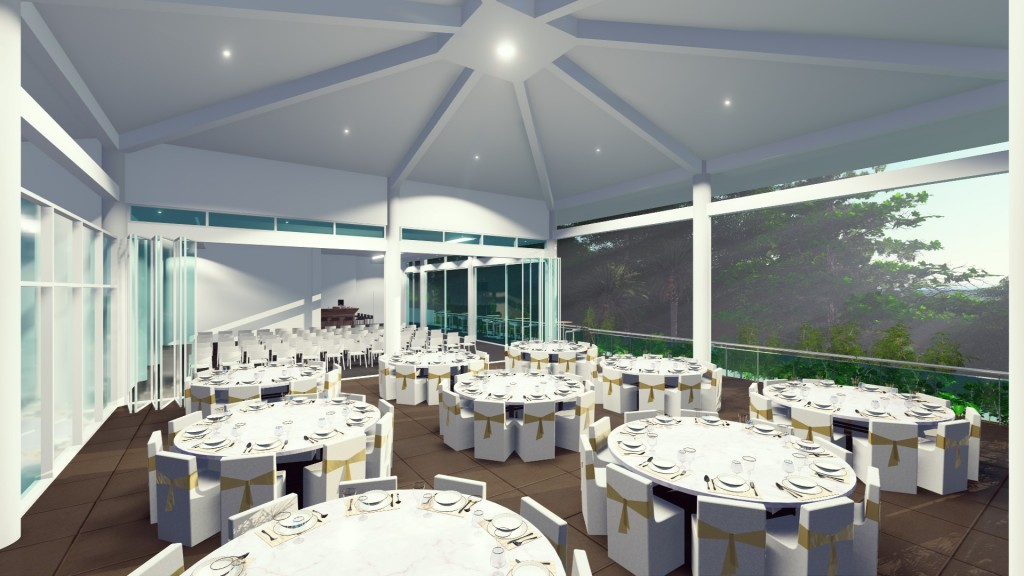 Daydream Island Resort - Eclipse Terrace & Room ARTISTS IMPRESSION