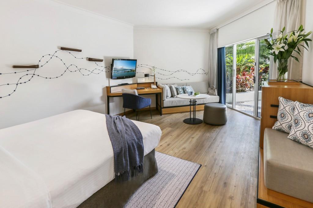 Shangri-La Hotel, The Marina Cairns Deluxe Room Garden View