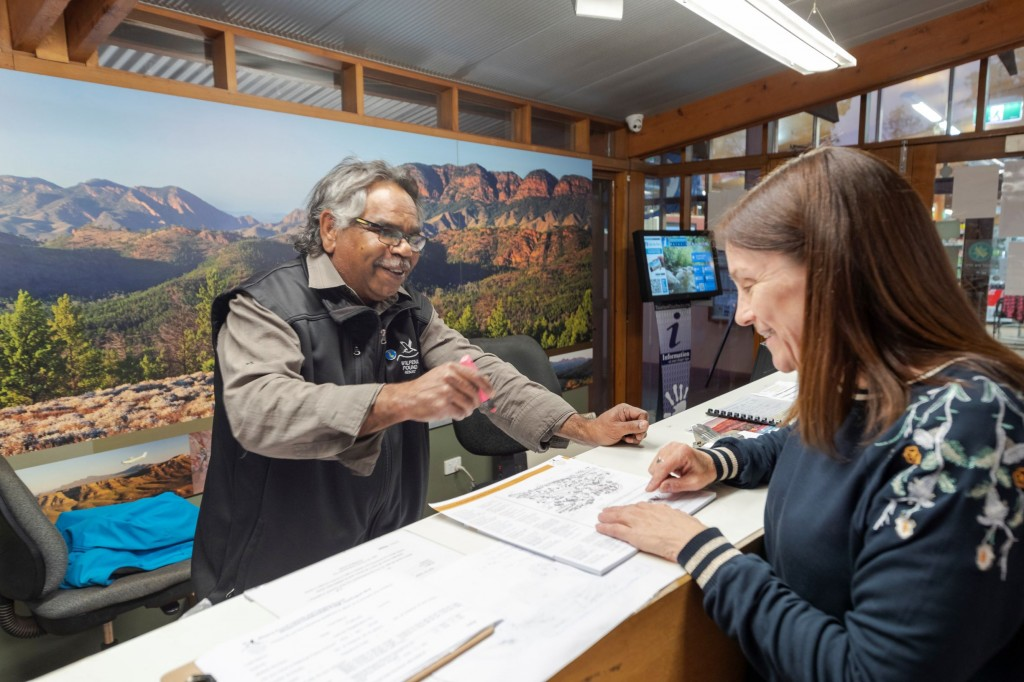 Indigenous Guides Lead the Way at Wilpena Pound Resort