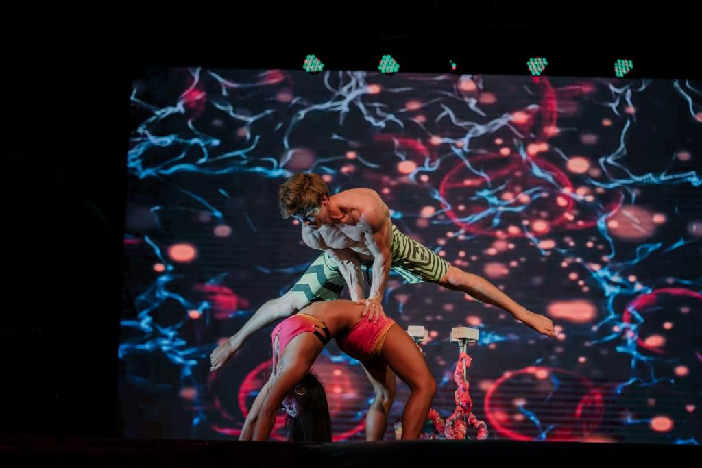 Nightly performances at Club Med Bali