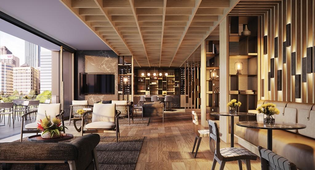 The Ritz-Carlton, Perth Club Lounge