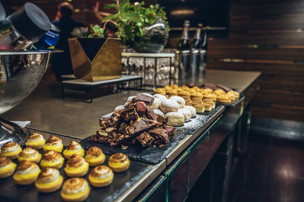 Fraser Suites Sydney event trial food